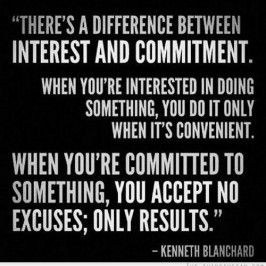 Commitment: Do You Over-Commit or Are You Hard to Pin Down?  Are You Committed to the Right Things for You?