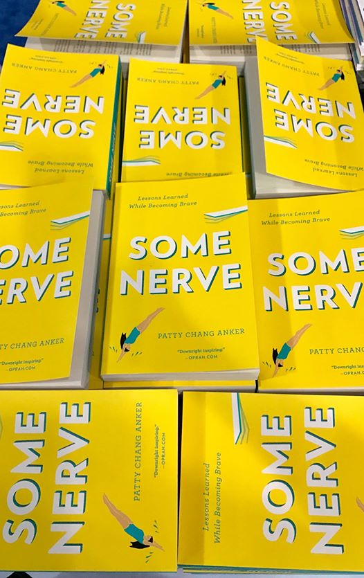 Some Nerve Book Passage Display -PattyChangAnker.com