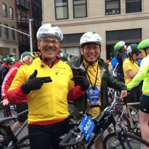 TD Five Boro Bike Tour Team #SomeNerve Excited -PattyChangAnker.com