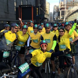 Team #SomeNerve Rides Again: TD Five Boro Bike Tour 2015