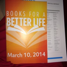 Books for a Better Life Award Benefiting National MS Society
