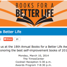 Some Nerve is named a finalist for the 18th Annual Books for A Better Life Award!
