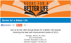 Books for a Better Life Award logo