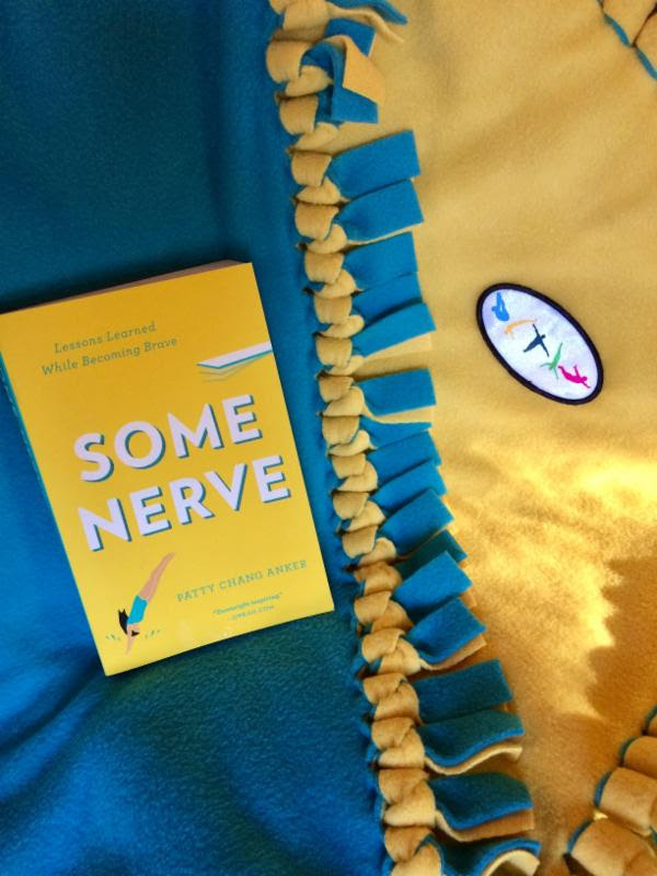 Some Nerve book and blanket -PattyChangAnker.com