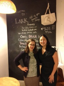 With Amy Shearn at Lit at Lark