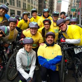 How to Bike in the Rain-With 32K Friends! TD Five Boro Bike Tour Team #SomeNerve 2016 Recap