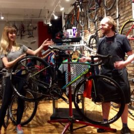 Where the Girls Are: At the Bike Shop!