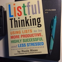 Mastering the Art of the To Do List: A Productivity Party Celebrating LISTFUL THINKING at Book Culture, NYC