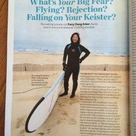 """What's Your Big Fear? Patty Chang Anker shares how to overcome what's holding you back"" in Dr. Oz Magazine on stands now!"