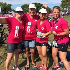 Racing the IronGirl Sprint Triathlon with Rye Y TRIBE