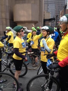 TD Five Boro Bike Tour Team #SomeNerve Wave -PattyChangAnker.com